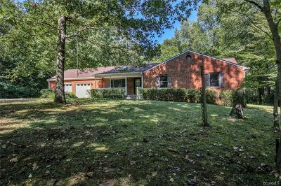Chester Single Family Home For Sale: 12610 Ivey Mill Road