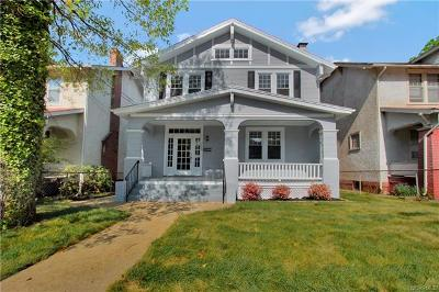 Richmond Single Family Home For Sale: 3004 Woodrow Avenue