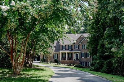 Hanover County Single Family Home For Sale: 7200 History Lane