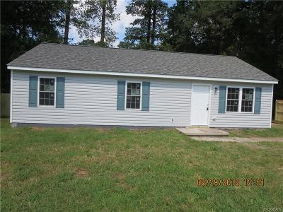 Chesterfield County Rental For Rent: 20906 Sasha Court