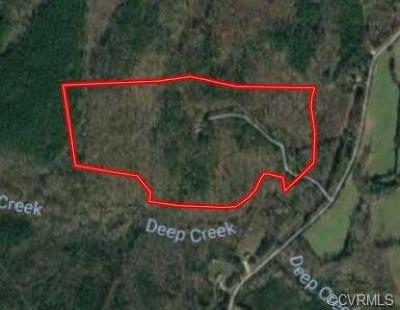 Nottoway County Residential Lots & Land For Sale: 1591 Mountain Hall Road