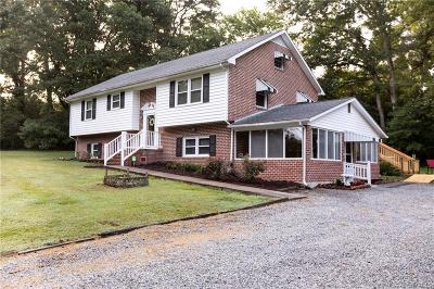 Farmville Single Family Home For Sale: 1887 Back Hampden Sydney