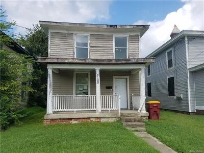 Petersburg Single Family Home For Sale: 2205 Ferndale Avenue