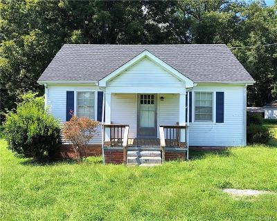 Midlothian Single Family Home For Sale: 4208 North Bailey Bridge Road
