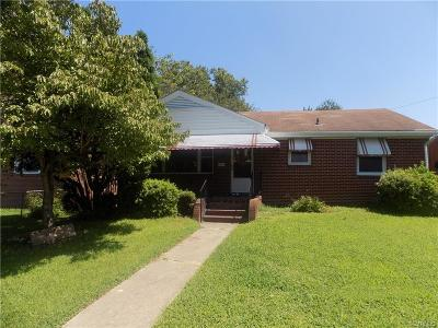 Petersburg Single Family Home For Sale: 911 Patterson Street