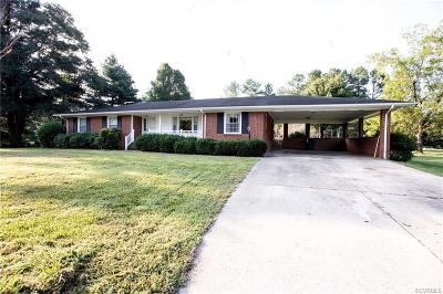 Farmville Single Family Home For Sale: 1689 Germantown Road