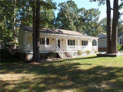Chester Single Family Home For Sale: 2818 Sand Hills Drive