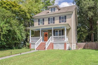 Richmond Single Family Home For Sale: 2923 Hawthorne Avenue