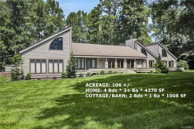 Prince George Single Family Home For Sale: 3050 Courtland Road