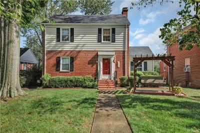 Richmond Single Family Home For Sale: 4304 Grove Avenue