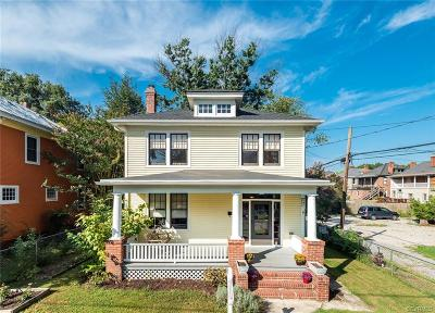 Richmond Single Family Home For Sale: 408 West 30th Street