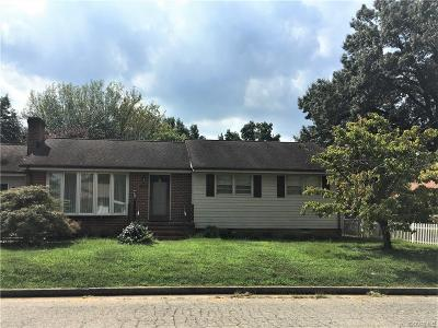 Hopewell Single Family Home For Sale: 3306 Norton Street