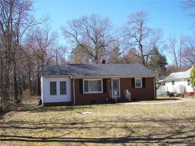 South Chesterfield Single Family Home For Sale: 21210 Winfree Avenue