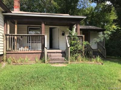 Chester Single Family Home For Sale: 3712 Totty Street