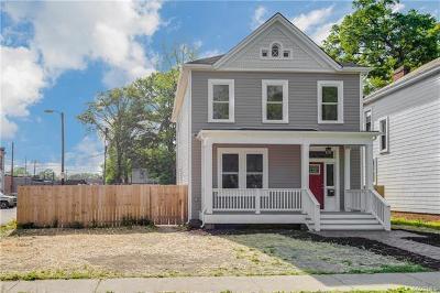 Richmond Single Family Home For Sale: 3008 Garland Avenue