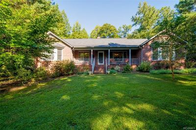 Hanover County Single Family Home For Sale: 15101 Quaker Church Road
