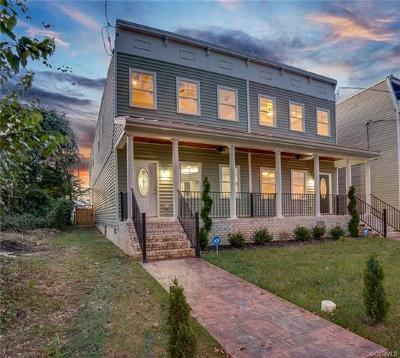 Richmond Single Family Home For Sale: 1116 North 33rd Street