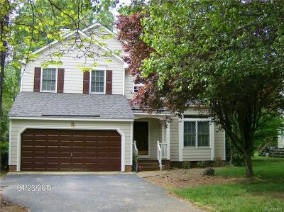 Chesterfield County Rental For Rent: 5515 Windy Ridge Drive