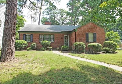 Richmond Single Family Home For Sale: 2001 Westover Hills Boulevard