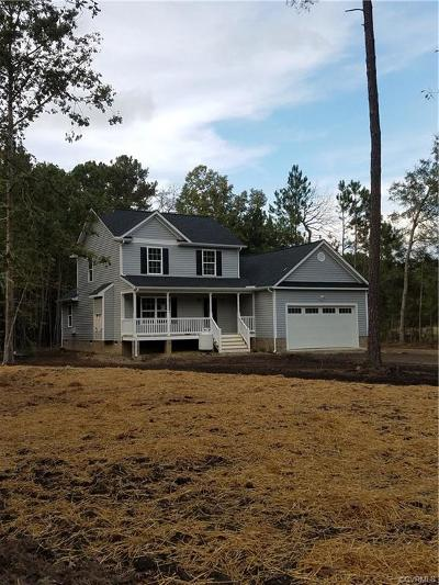 Mechanicsville Single Family Home For Sale: 8352 Whippoorwill Road
