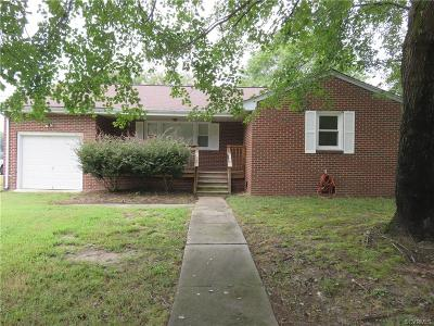 South Chesterfield Single Family Home For Sale: 4200 Hickory Road
