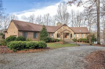 Powhatan County Single Family Home For Sale: 1520 Lake Randolph Road