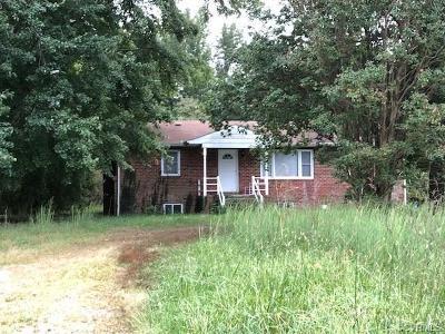 Hanover County Single Family Home For Sale: 6111 Mechanicsville Turnpike