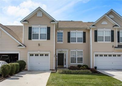 Midlothian Condo/Townhouse For Sale: 1708 Rose Mill Circle
