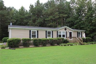 Aylett Single Family Home For Sale: 4278 Dorrell Road