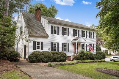 Henrico County Single Family Home For Sale: 1708 Downing Court