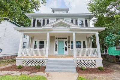 Richmond Single Family Home For Sale: 3023 North Avenue