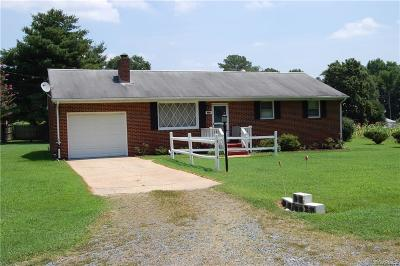 Petersburg Single Family Home For Sale: 4311 Westwood Drive