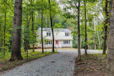 Powhatan County Single Family Home For Sale: 2511 Mill Road