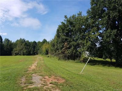 Powhatan Residential Lots & Land For Sale: 6701 Old Buckingham Rd