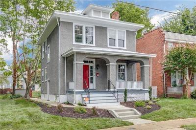 Richmond Single Family Home For Sale: 508 Arnold Avenue