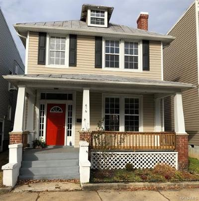 Richmond Single Family Home For Sale: 616 North 33rd Street
