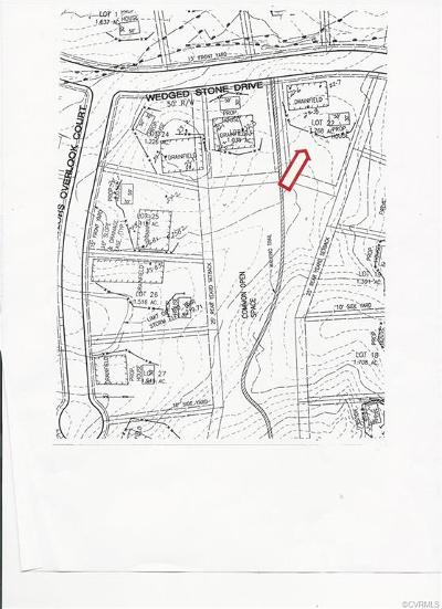 Hanover County Residential Lots & Land For Sale: 17117 Wedged Stone Drive