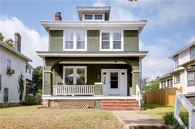 Richmond Single Family Home For Sale: 3228 Hanes Avenue