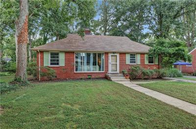 Henrico Single Family Home For Sale: 8713 Wytheland Road