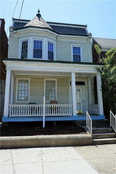Richmond Single Family Home For Sale: 2205 West Cary Street