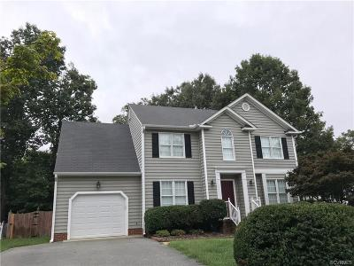 Henrico County Rental For Rent: 3001 Sandy Bluff Place