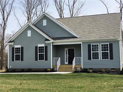 Henrico Single Family Home For Sale: 000000 New Market Village Boulevard
