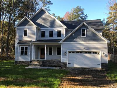 Ruther Glen Single Family Home For Sale: 1 Stafford Cove