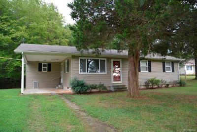 Farmville Single Family Home For Sale: 139 Lake Drive