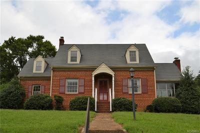 Henrico Single Family Home For Sale: 112 Norman Drive