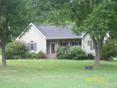 Powhatan County Single Family Home For Sale: 918 Old Confederate Cemetery Road