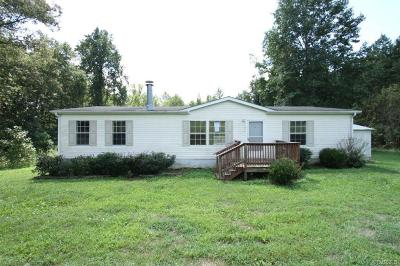 Goochland VA Single Family Home Sold: $108,000