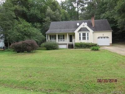 Mechanicsville Single Family Home For Sale: 10146 South Peridot Court