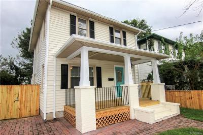Colonial Heights VA Single Family Home For Sale: $169,990