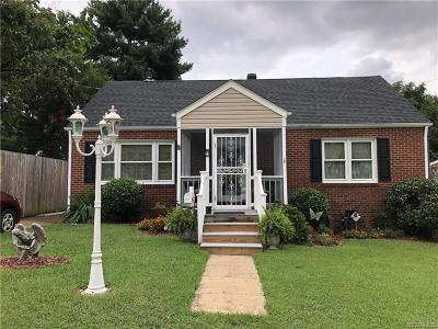 Colonial Heights VA Single Family Home For Sale: $159,900